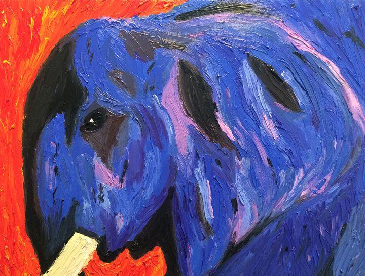 The Blue Elephant. - Raul Carvalho