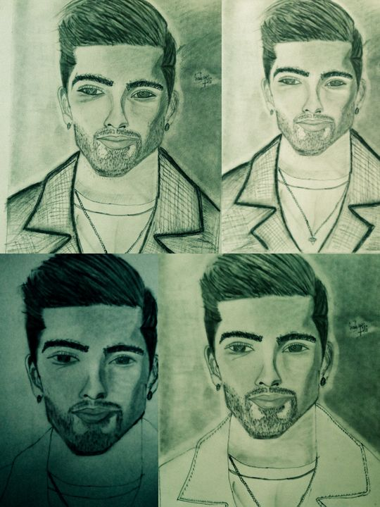 Fan of zayn - fantasy potraits by shahrun ali