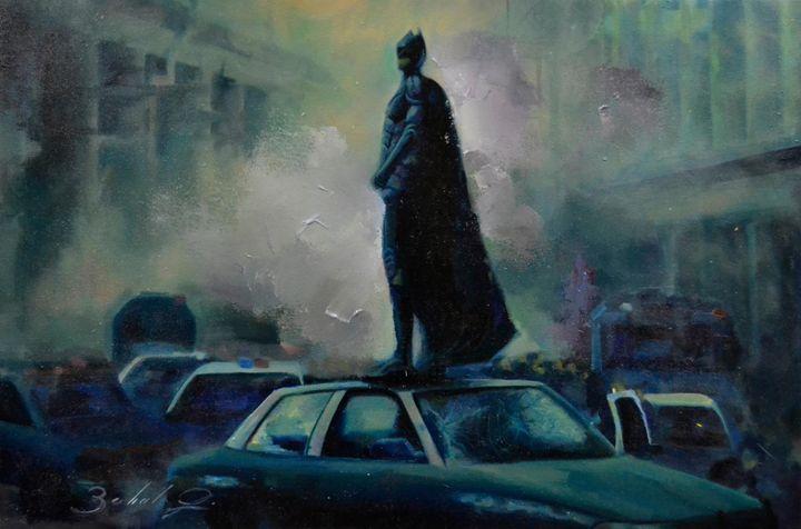 Batman - Zo's Oil Paintings