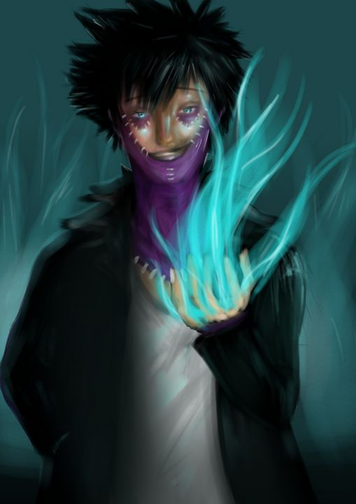 Dabi from My Hero Academia - royce.art