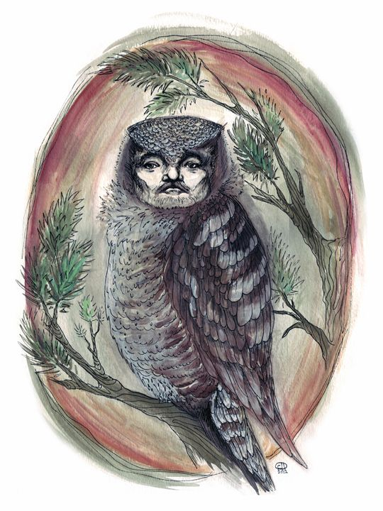 Bill Murray Owl - Look What We Made