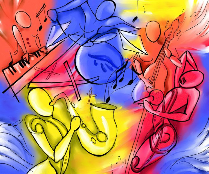 Women in Jazz - Ashley S's Art