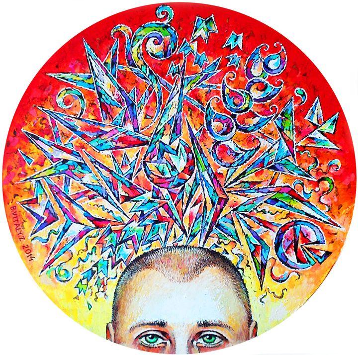 Self-portrait - Vitaly Zasedko