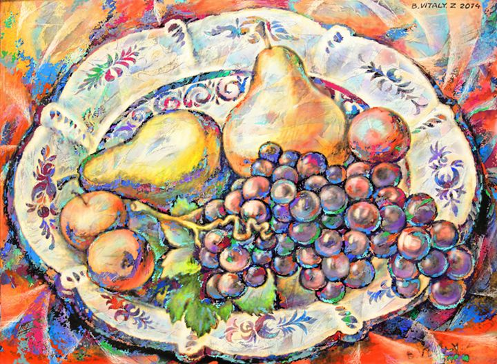 Fruit Plate - Vitaly Zasedko
