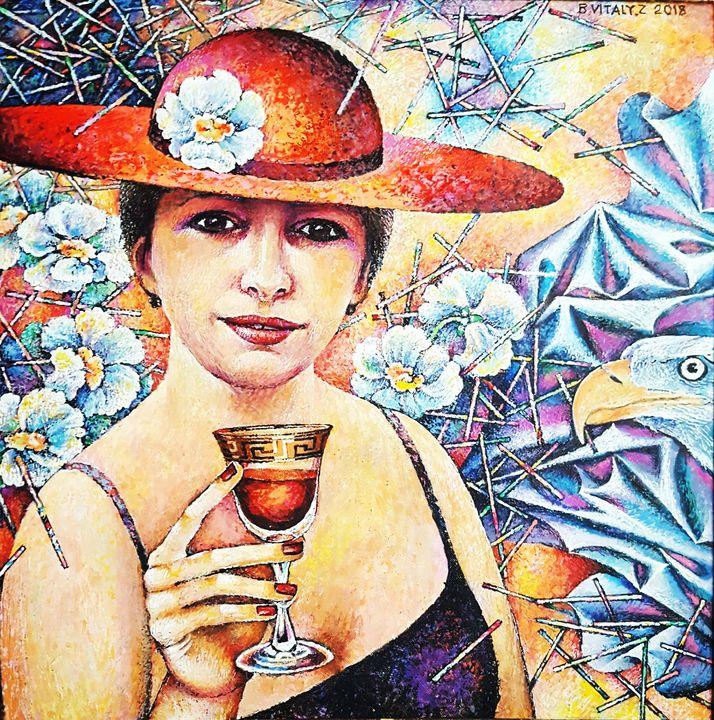 Wine glass - Vitaly Bobylev