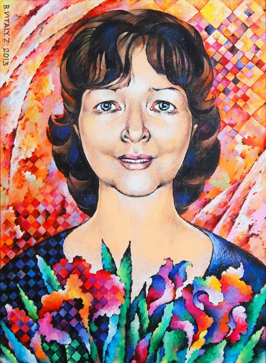 Portrait of Woman-9 - Vitaly Bobylev