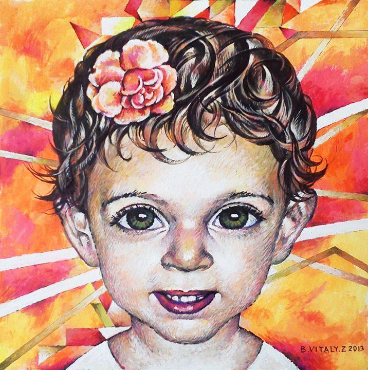 Children's Portrait - Vitaly Bobylev