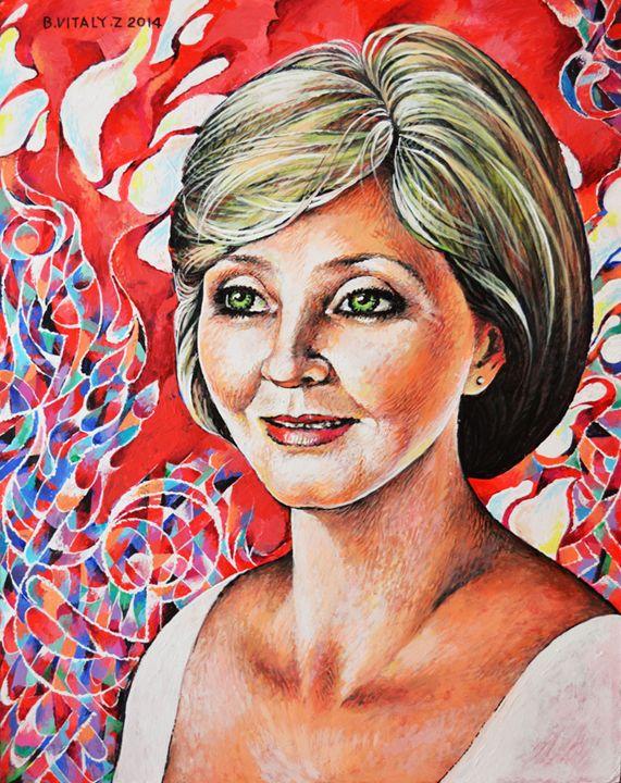 Portrait of Woman-17 - Vitaly Bobylev