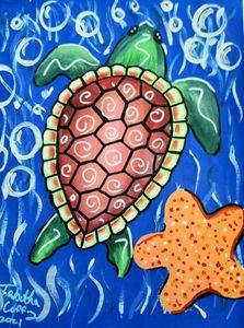sea turtle - Prints for Kids
