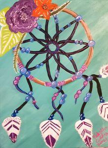 Boho Dreamcatcher - Prints for Kids