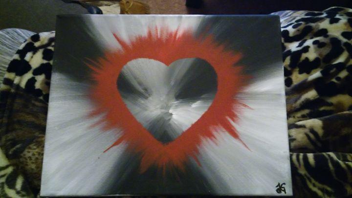 Blasted Heart - JG