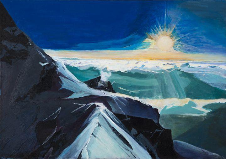Mountain Sunset - Felicia Presberg Fine Art Gallery