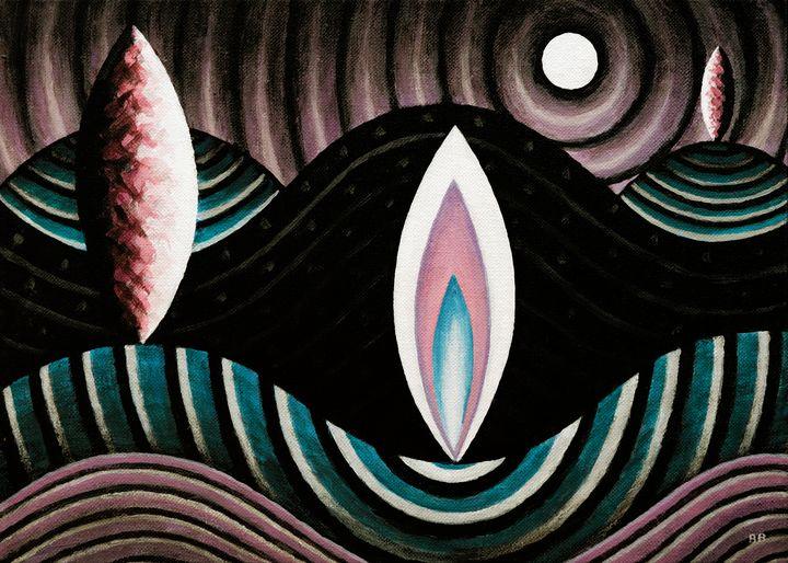 Cosmic Terrain #1 - Bruce Bodden