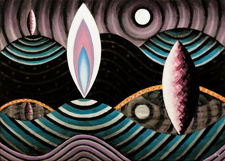 Cosmic Terrain #2 - Bruce Bodden