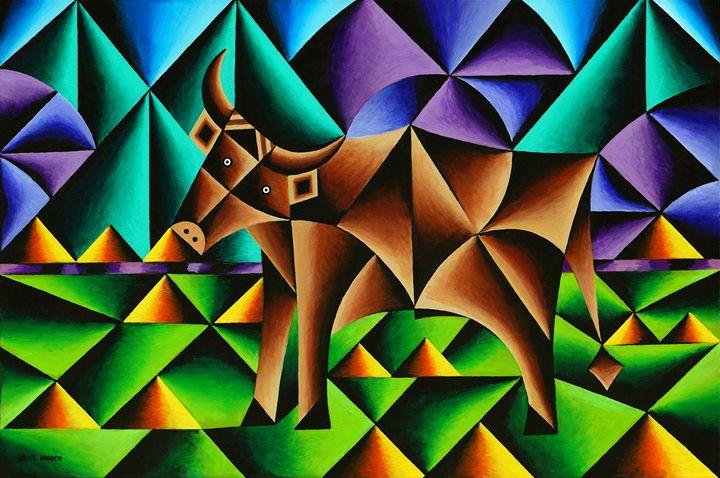 Bull Cubed - Bruce Bodden