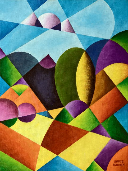 Abstract Landscape - Bruce Bodden
