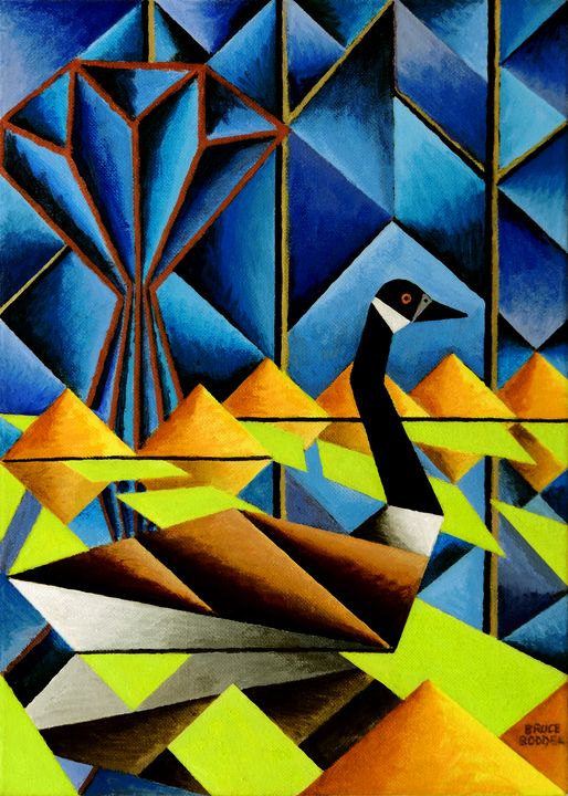 Abstract Goose - Bruce Bodden
