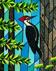 Pileated Woodpecker - Bruce Bodden