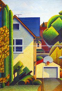 Across St. From Painting Studio #2 - Bruce Bodden