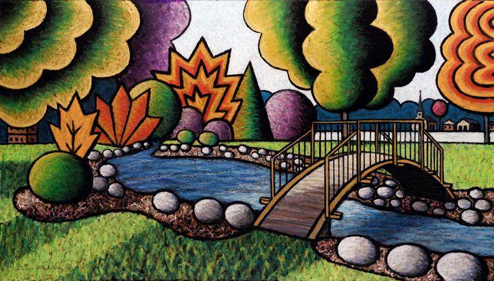 Smith Park Bridge-Metallic - Bruce Bodden