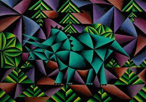 Triceratops Cubed - Bruce Bodden