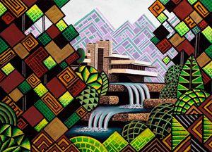 Falling Waters Sennelier - Bruce Bodden
