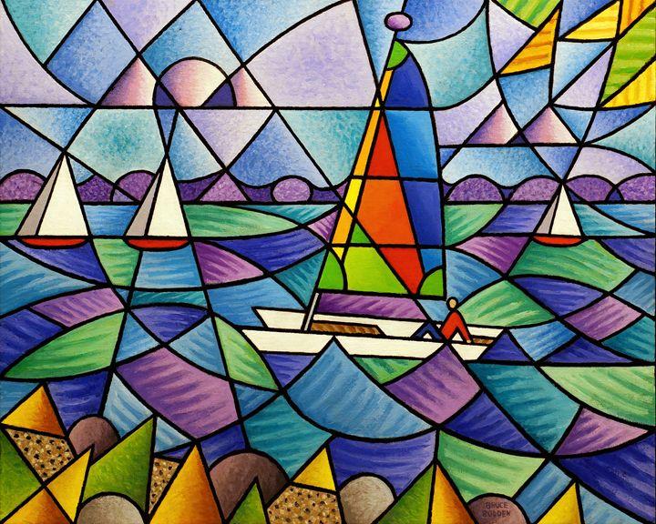 Sailboats - Bruce Bodden