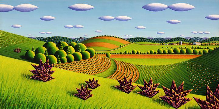 Hills By Hwy 28 - Bruce Bodden