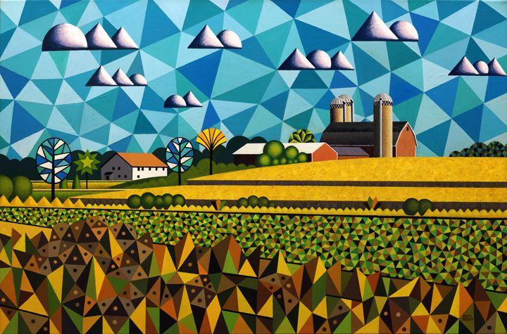 Farm By Hwy 28 - Bruce Bodden