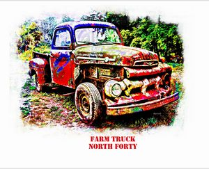 Farm Trick North Forty - The Art of Don Barrett