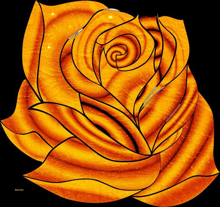 Yellow Rose - The Art of Don Barrett