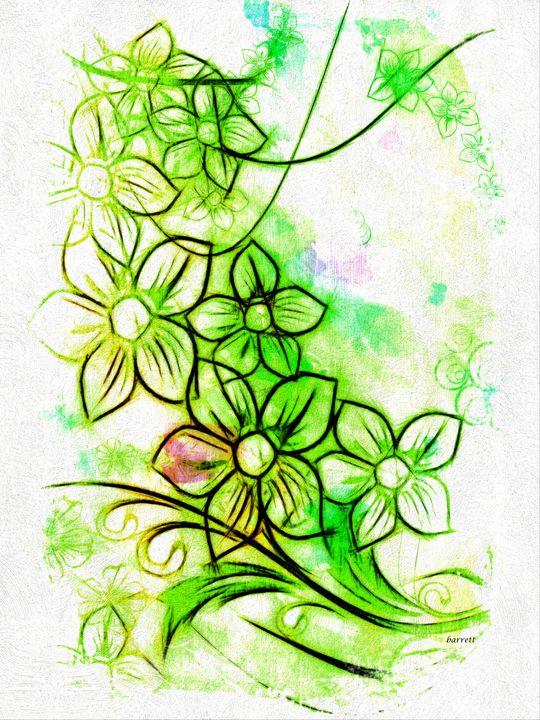 Floral Minimalism - The Art of Don Barrett