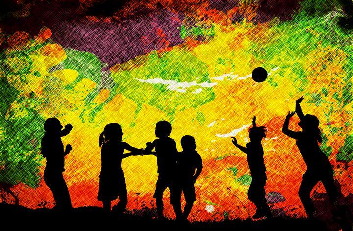 Child's Play - The Art of Don Barrett