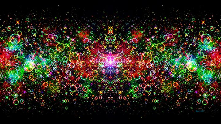 The Bubble Galaxy - The Art of Don Barrett