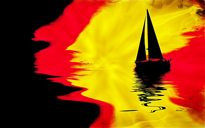 Sailboat for My Love - The Art of Don Barrett