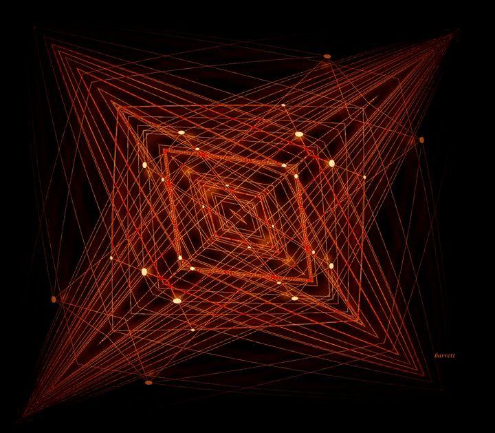 Hyper Tesseract - The Art of Don Barrett