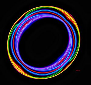 Stained Glass Ellipse
