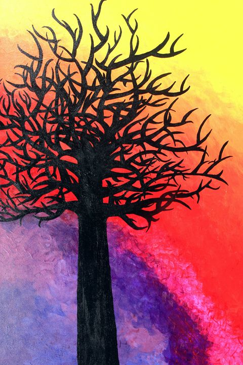 The Black Tree - Ritika's art