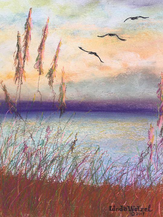 Dimming of the Day - Linda Wetzel Fine Art