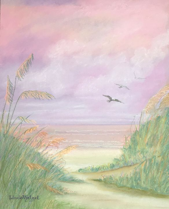 Sunrise on Destin Beach - Linda Wetzel Fine Art