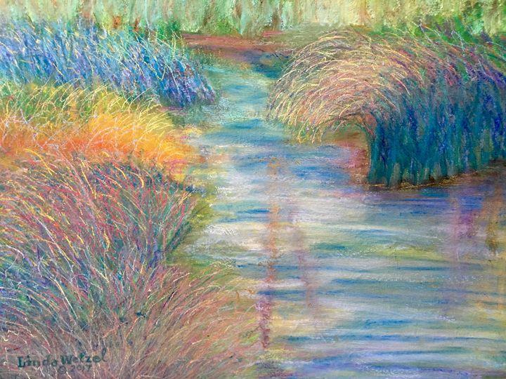 Reflections in the Marsh - Linda Wetzel Fine Art