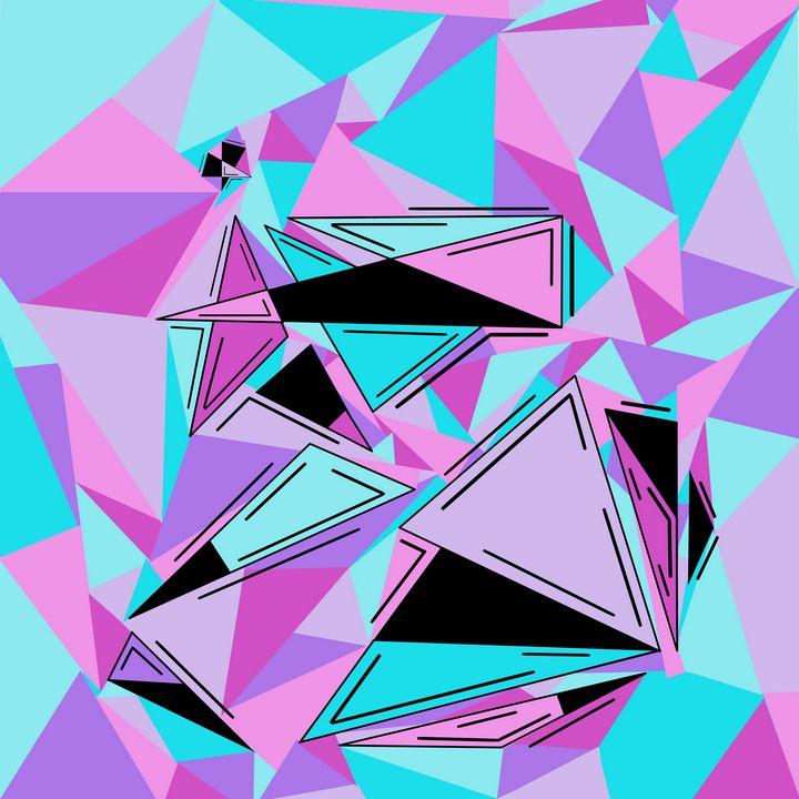 Abstract 80's - Kaitlin Neikes
