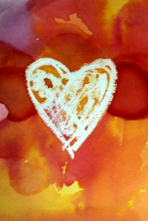Heart on fire - Prints