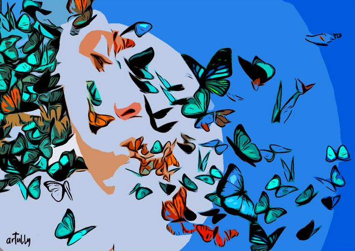 Lennon - butterflies - arTully