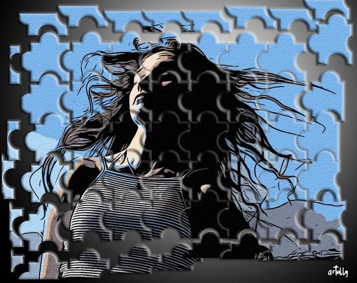 Evita - puzzle pop - arTully