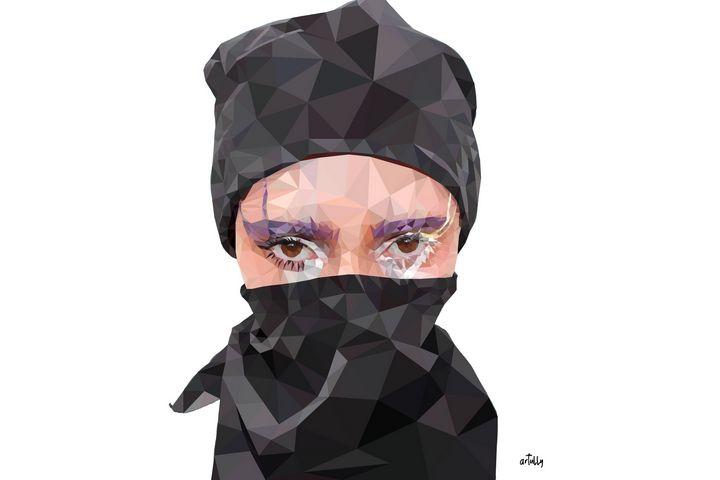 Evita with bandana - Vex - arTully