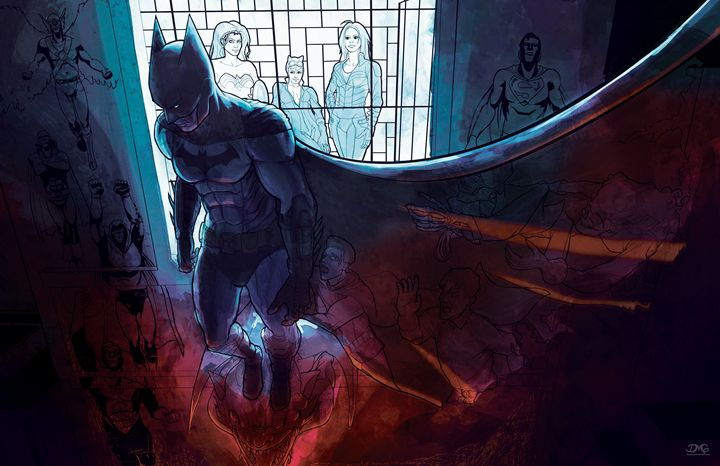 Batman fanart - Dave Go