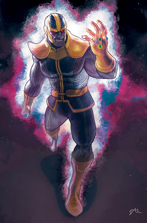 Thanos Fanart - Dave Go