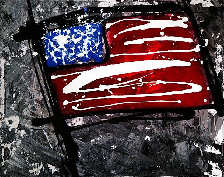 """8/26/2015 - Flag Series #2"" - Chuck Redick"