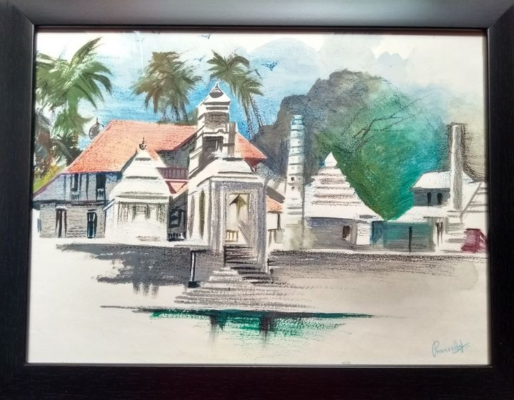 Landscape painting - Pranu_artstudio7222